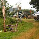 Festival terrein Living Village wordt steeds mooier.