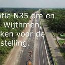 Drone foto beelden N35 Wijthmen