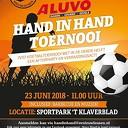 Het traditionele Hand in Hand – voetbaltoernooi