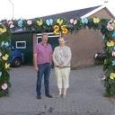 Ernie en Joke 25 jaar getrouwd