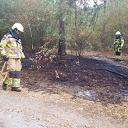 Gisteren 2 x bosbrand nabij Lemelerweg