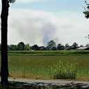 Heidebrand op schietterrein Defensie in Gelderse Oldebroek