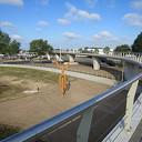 Fiets/voetbrug N35 gaat komende week open