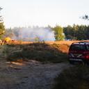 Opnieuw bosbrand in het Rechterenseveld te Dalfsen