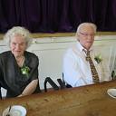Hoog bezoek bij 60 jarig bruidspaar Bijlsma- Oosterlaar