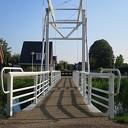 Een nieuwe brug aan het Jaagpad te Lemelerveld