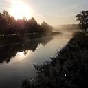 Mooie nazomerochtend vanaf de Kluinhaarsbrug