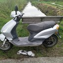 Politie: Van wie is deze scooter?