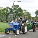 Tractor Oldtimerrit met 150 Tractoren