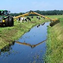 Waterschap controleert schoonmaken sloten