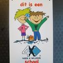 Vierkeerwijzerschool voor St Cyriacus Hoonhorst