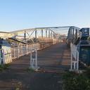 Oude voetgangersbrugnog steeds in gebruik