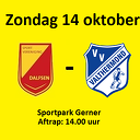 SV Dalfsen zondag thuis tegen VV Valthermond