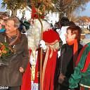 Sint veilig aangekomen in Dalfsen.
