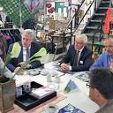 Commissaris van de Koning bezoekt Nieuwleusen Synergie