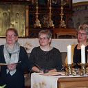 Drie jubilarissen gehuldigd in H. Willibrorduskerk