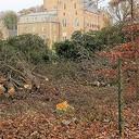 Groot onderhoud rondom het kasteel Rechteren