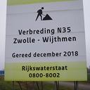 N 35 Koelmansstraat tot Zwolle bijna gereed