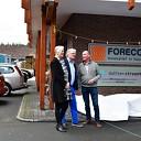 Opening eerste zonnepark Dalfsen Stoomt