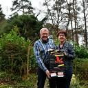 Miny en Jan Marsman inzet levert €1309,16 op voor het nationaal MS-fonds