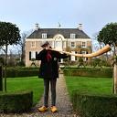 Midwinterhoornblazers bliezen bij huize Den Berg