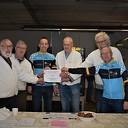 Night bikers doneren 165 euro aan stichting Vrienden Oost Europa