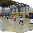 Lekker volleyballen in de Trefkoele