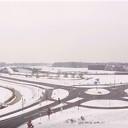 Dalfsen van Boven met sneeuwbeelden
