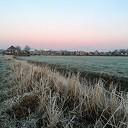Aanblik Dalfsen in wintersfeer