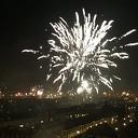 Een licht-glanzend, spetterend nieuwjaar gewenst