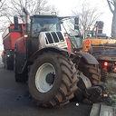 Gewonde bij aanrijding met tractor, Dedemsweg Dalfsen