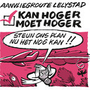 Actiegroepen hopen op veel bezwaren tegen laagvliegroutes Lelystad Airport