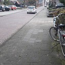 Damesfiets in de Ruitenborghstraat