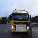 Herman vandaag 45 jaar in trouwe dienst bij Feijen
