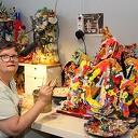 Kleurrijke tentoonstelling L' Art Brut