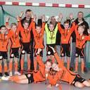 S.V. Nieuwleusen JO11-3 kampioen in de zaal