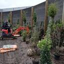 Tuinrealisatie bij Royal Bel Leerdammer