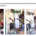 """Afsluiten van Project """"Gereedschap voor Jambanjelly school"""" 2018"""