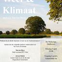 Weer- en Klimaatavond met o.a. Ton ten Hove