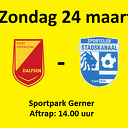 Voorbeschouwing SV Dalfsen – SC Stadskanaal