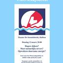 Vanavond het Waterschapsdebat in Theater de Stoomfabriek
