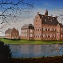 Schilderijen expositie Wim Schrijver (overdekt)
