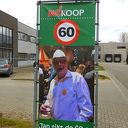 Jan van Leussen 60 jaar.