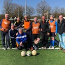 Zonnige start voor Walking Football-groep in Dalfsen