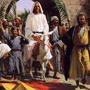 Jezus: op een viervoeter