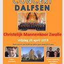 Oranje concert in Grote Kerk