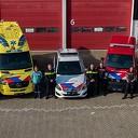 Nieuwe strepen voertuigen hulpverleningsdiensten