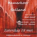 Jubileumconcert Kamerkoor Salland in Vilsteren