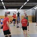De volleybal finale wedstrijden van vanavond