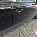 Auto flink bekrast in Dalfsen
